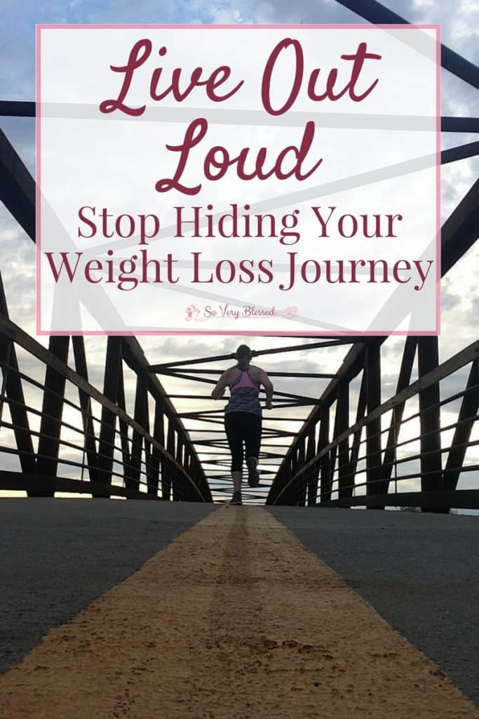 Are you missing out on the best parts of life? Stop hiding your weight loss journey and watch your life, and those around you, transform for the better!