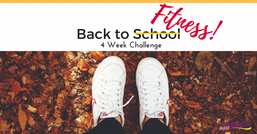 Join The Back To Fitness Challenge!