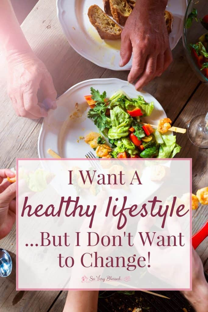 Sure, all of us want to build a healthy lifestyle, but do you actually want it badly enough to shake yourself out of your usual habits and routines and change your life?