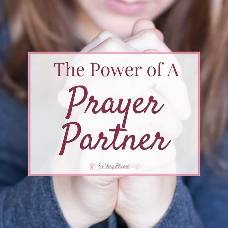 The Power Of A Prayer Partner