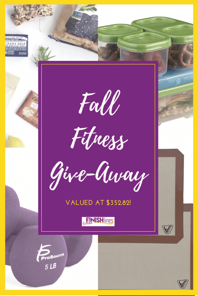 Want to make healthy living even easier this Fall? Enter our Fall Fitness Giveaway for a chance to win prizes valued at $352.82 to make exercising, healthy eating, and weight loss just a little bit easier.