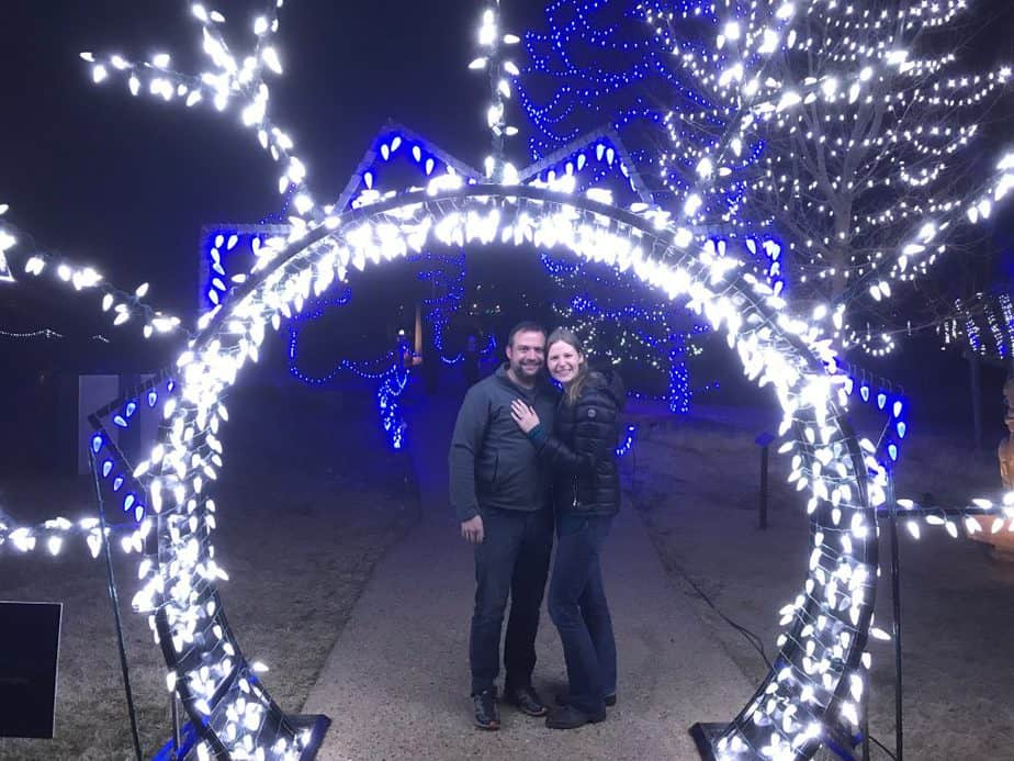 A Holiday Engagement - This is our proposal story.