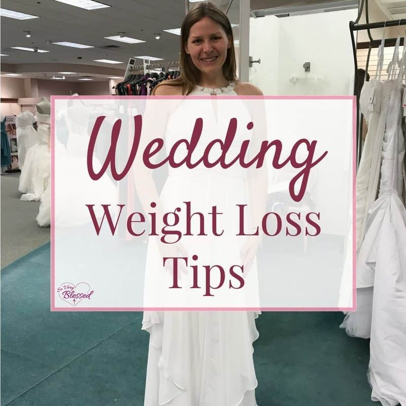 Wedding Weight Loss Tips