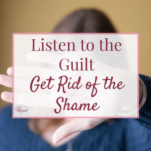 For years, I've thought guilt is all bad. I've believed that God is not a God of guilt because He's a God of grace. That guilt is just an unnecessary burden we carry when Christ is offering freedom instead. Now, I'm changing my perspective a bit. Here's why.