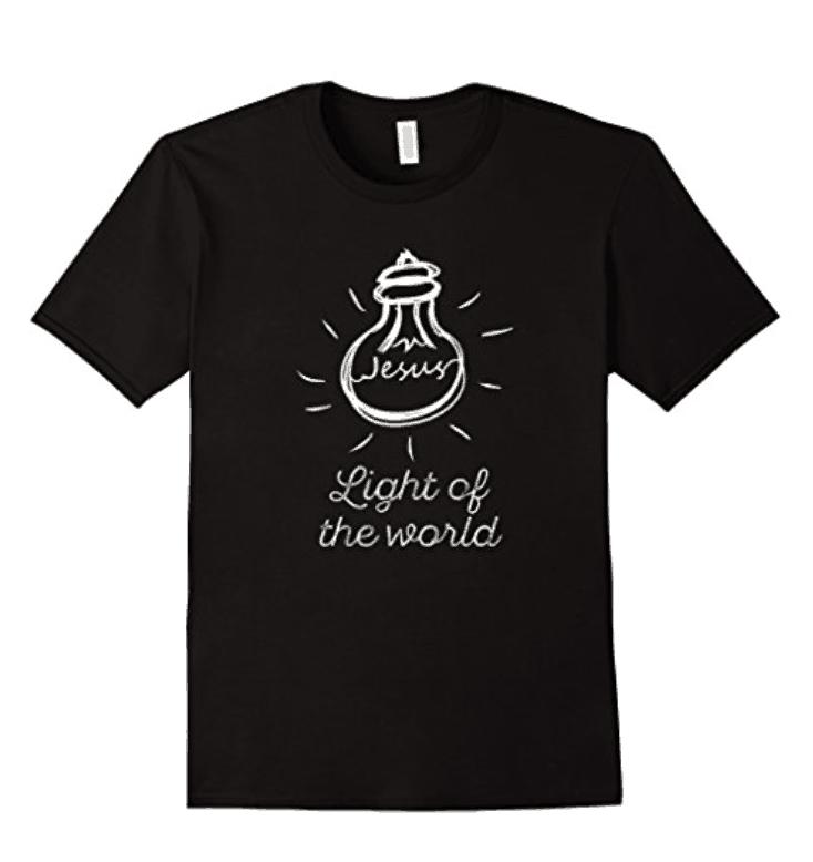 Christian Jesus Light of the World T-Shirt