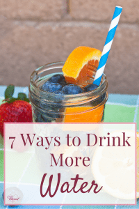Drinking more water is such an important part of losing weight and building a lifelong healthy lifestyle, but I know it's not easy! I went from Mountain Dew addict to water purist, one small change at a time. Here are 7 ways you can drink more water.