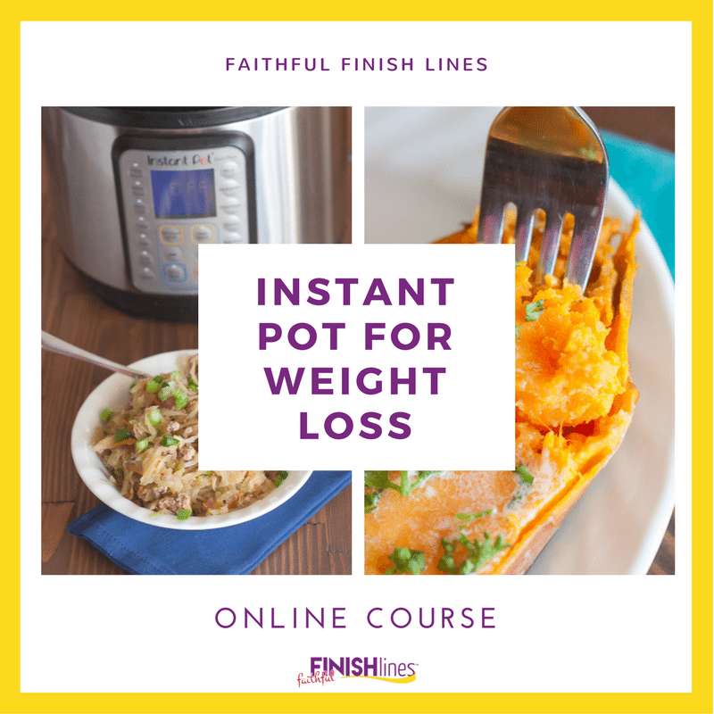 The Instant Pot for Weight Loss course includes meal plans, grocery lists, tutorials, tricks, and healthy recipes for an all-in-one solution for using your Instant Pot to lose weight.