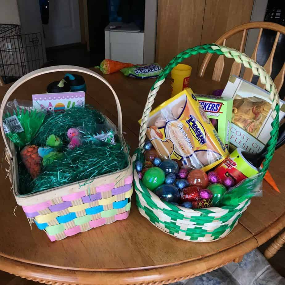 Easter baskets are really important to me, the most delicious Easter brunch, a week with no sugar, one step closer to moving, Colorado mood swings, and learning to trust.