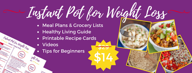 In this Instant Pot for Weight Loss course, we show you how to use your Instant Pot for weight loss with healthy recipes, videos, meal plans, and weight loss guides.