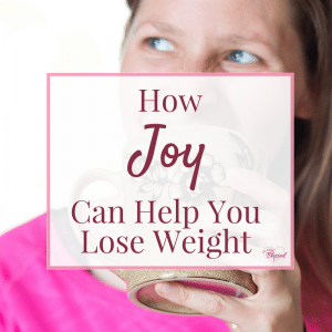 Weight loss journeys often bring up feelings of dread, torture, and punishment, but what if it didn't have to be that way? What if finding joy could actually help you lose weight?
