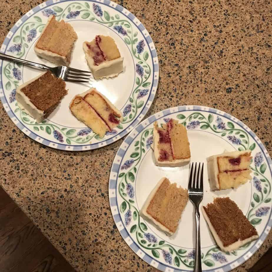 Now THAT was a cake tasting, a weight loss tip for dealing with peer pressure, I can't wait to be his aunt, our happy little house, the best Father's Day card ever for my almost-in-laws, and goat yoga.