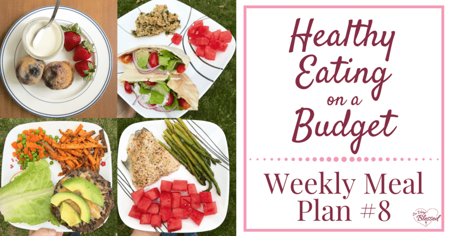 Healthy Eating On A Budget – Weekly Meal Plan #8