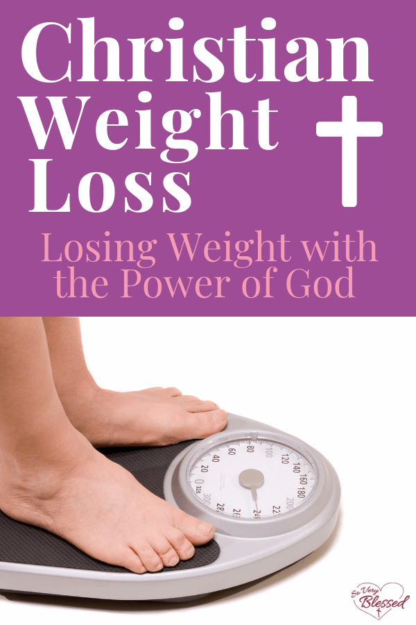 Christian weight loss is not just about losing weight. It's about transforming your life from the inside out! Start losing weight with the power of God.