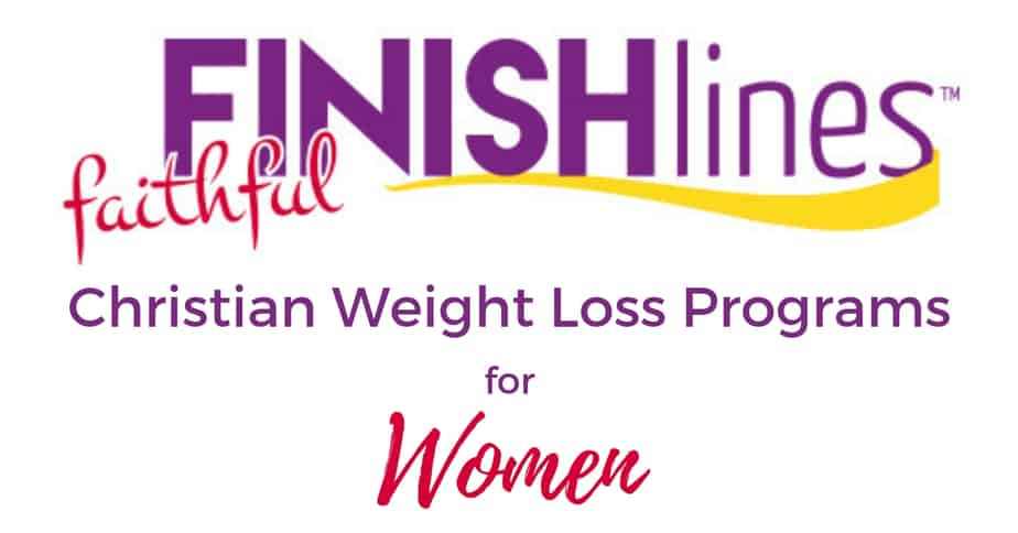 NEW at Faithful Finish Lines! Christian Weight Loss Programs for Women