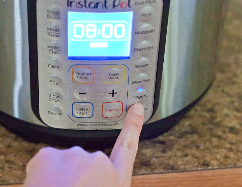 This Cold Start Instant Pot Greek Yogurt Recipe is an easy and budget-friendly choice for a healthy Instant Pot recipe for breakfast.