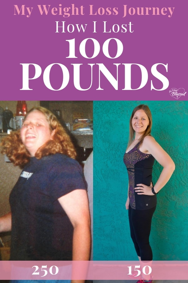 My Weight Loss Journey {How I Lost 100 Pounds}