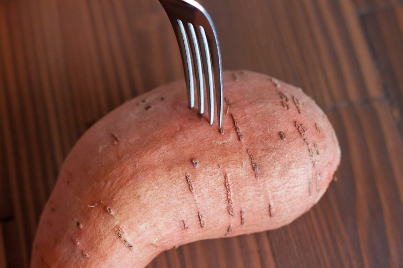 These Instant Pot Sweet Potatoes are made so much quicker than the oven, making it the perfect healthy recipe for your weekly meal prep.