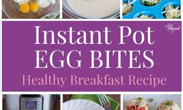 Instant Pot Egg Bites Recipe | Healthy Breakfast