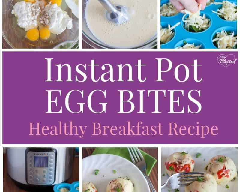 Instant Pot Egg Bites Recipe | Healthy Breakfast