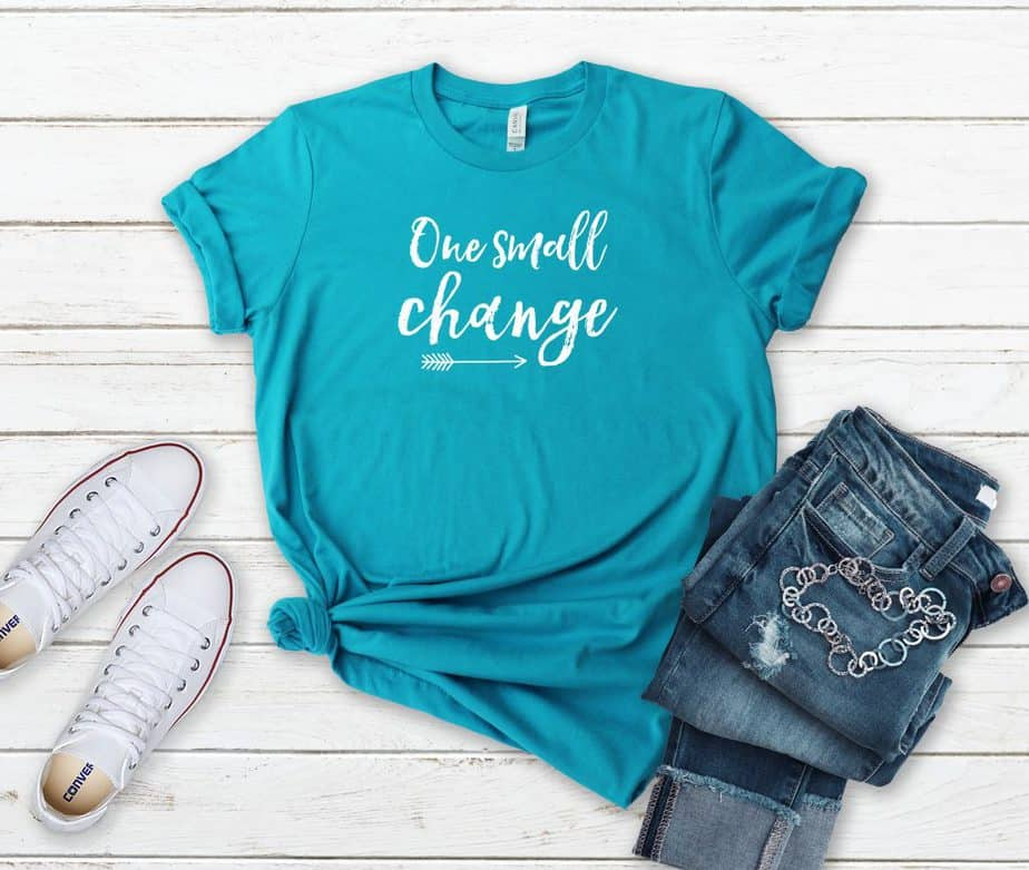 One Small Change Short-Sleeve Women's T-Shirt