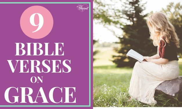 9 Bible Verses on Grace