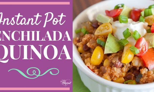 Instant Pot Enchilada Quinoa Recipe