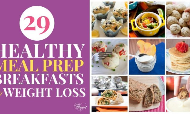 29 Healthy Meal Prep Breakfast Recipes for Your Weight Loss Journey