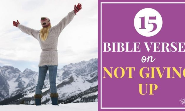15 Bible Verses on Endurance {When You Feel Like Giving Up}