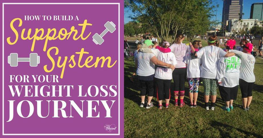 Woman in workout clothes with arms around shoulders - How To Build A Support System For Your Weight Loss Journey