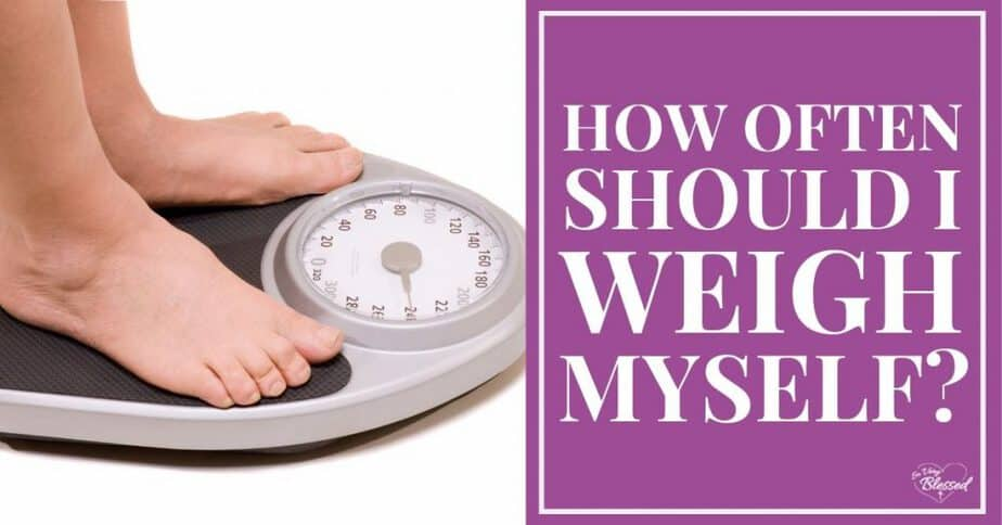 Feet stepping on scale - How Often Should I Weigh Myself?